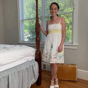 Jodi Kristopher Embroidered Sun Dress, Size 5/6